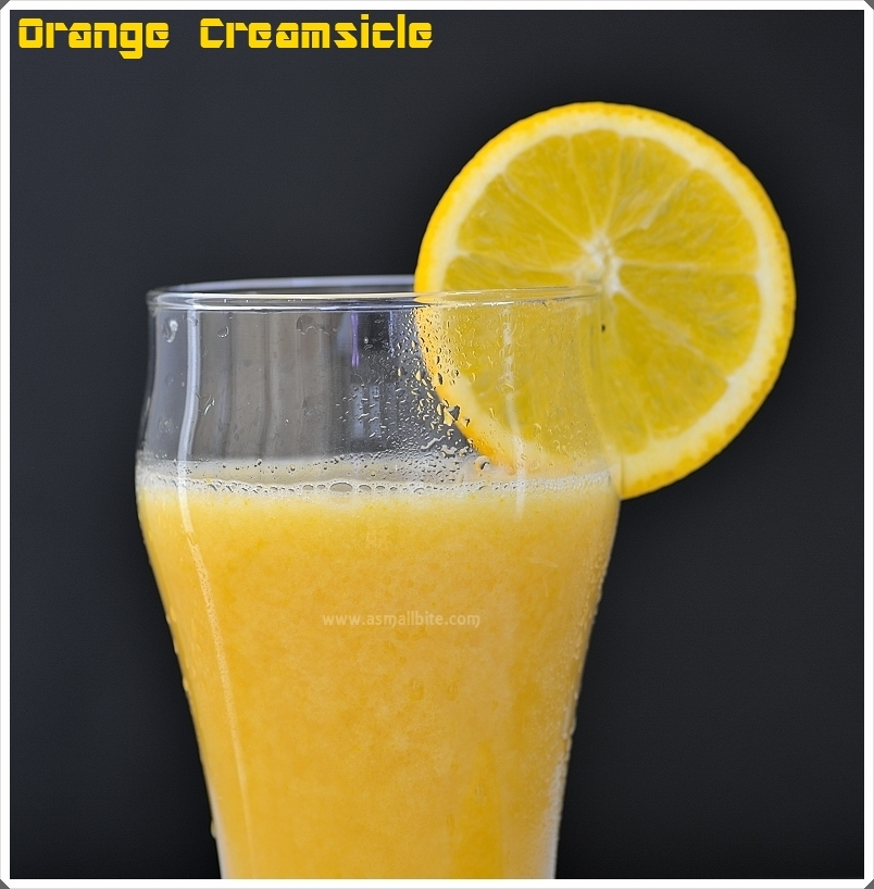 Orange Creamsicle Drink 1