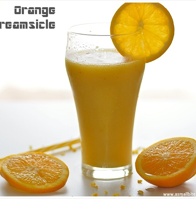 Orange Creamsicle Smoothie | Orange Creamsicle Drink