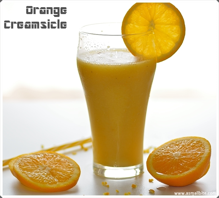 Orange Creamsicle Drink