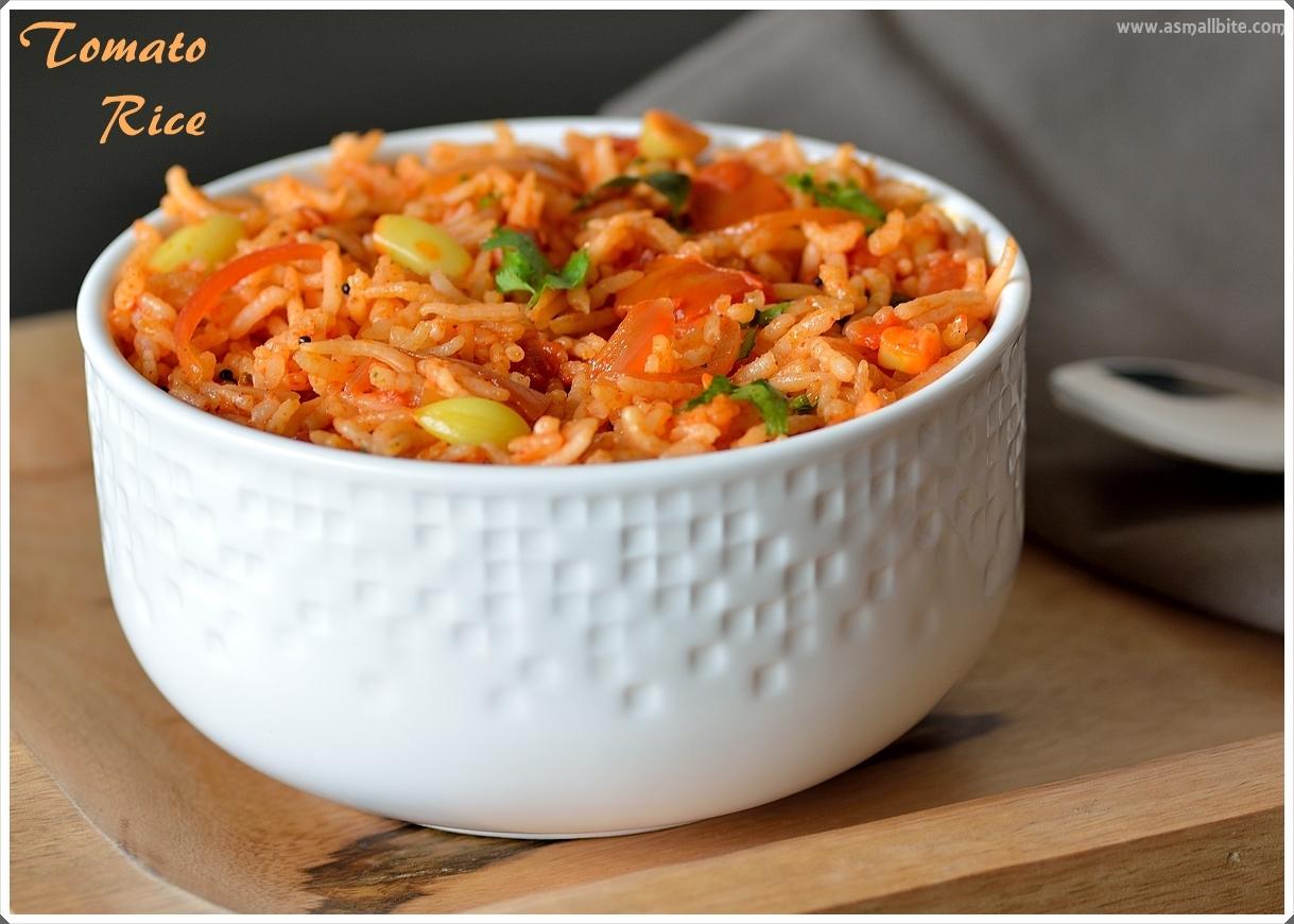 Tomato Rice Recipe 2