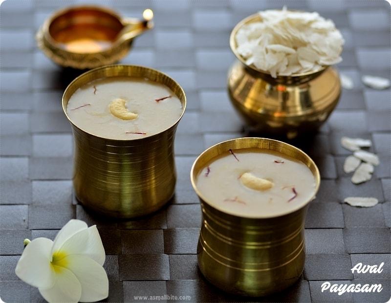 Aval Payasam Gokulashtami Recipes