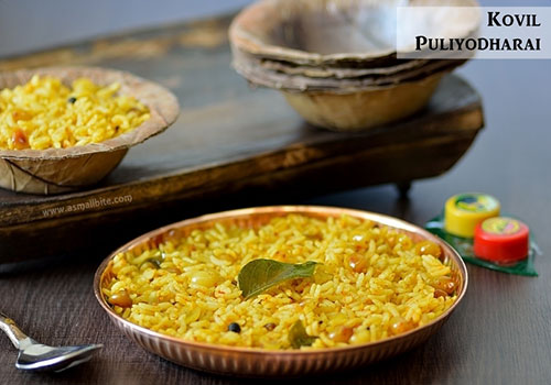 kovil puliyodharai recipe