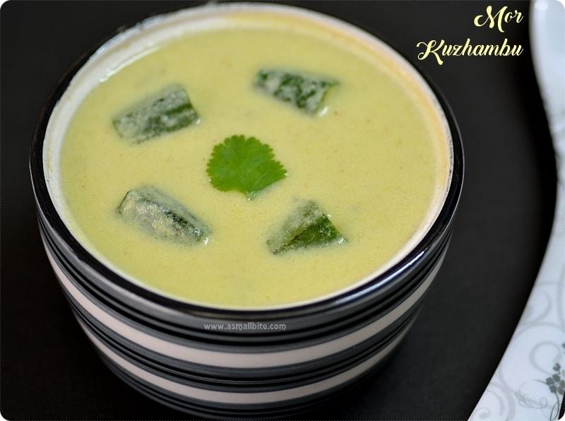Butter Milk Kuzhambu