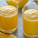 Muskmelon Juice | Cantaloupe Juice Recipe