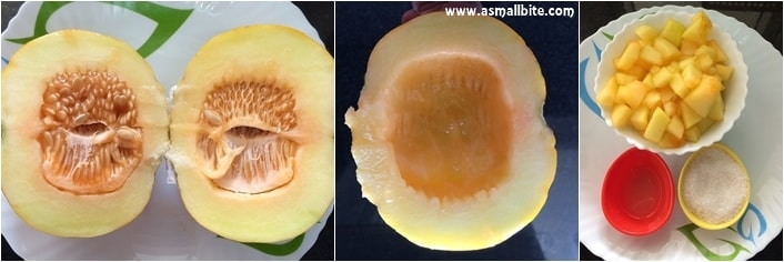 Muskmelon-Juice-Step1