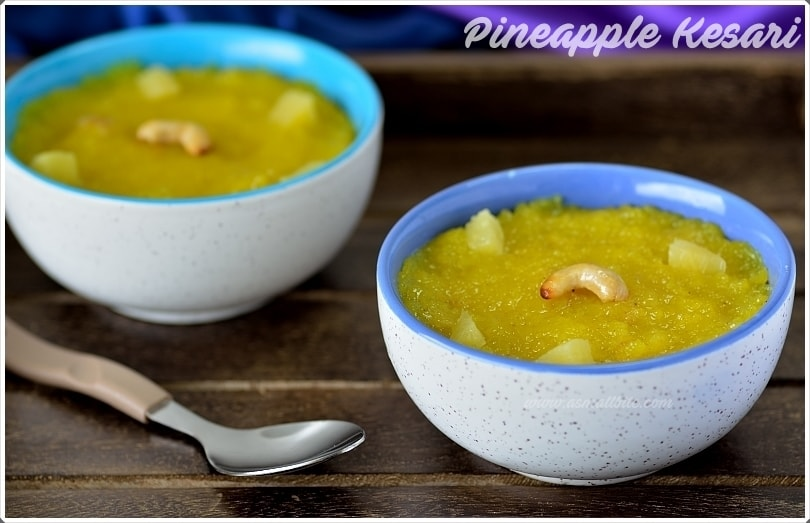 Pineapple Kesari 1