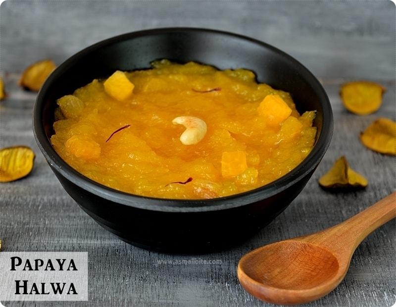 Papaya Halwa-Halwa-Recipes