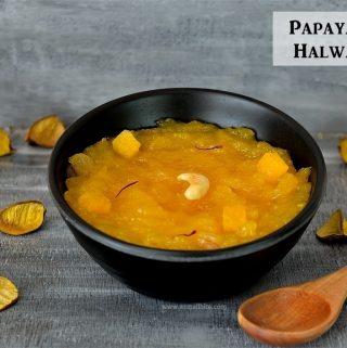 Papaya Halwa Recipe