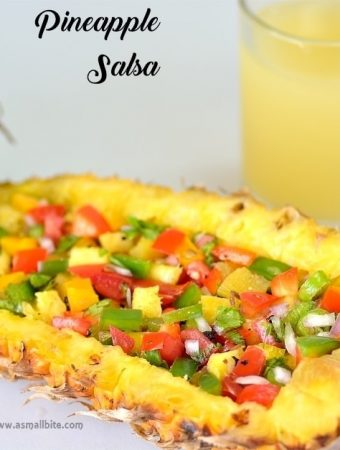 Pineapple Salsa Recipe | Easy Pineapple Salsa