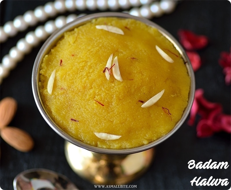 Badam Halwa Recipe 1