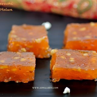 Bombay Karachi Halwa Recipe