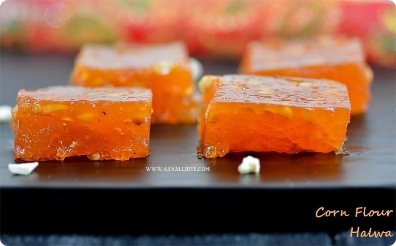 Corn Flour Halwa Recipe | Bombay Karachi Halwa | Easy Diwali Sweets