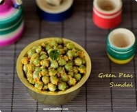 Green-Peas-Sundal-navratri-recipes
