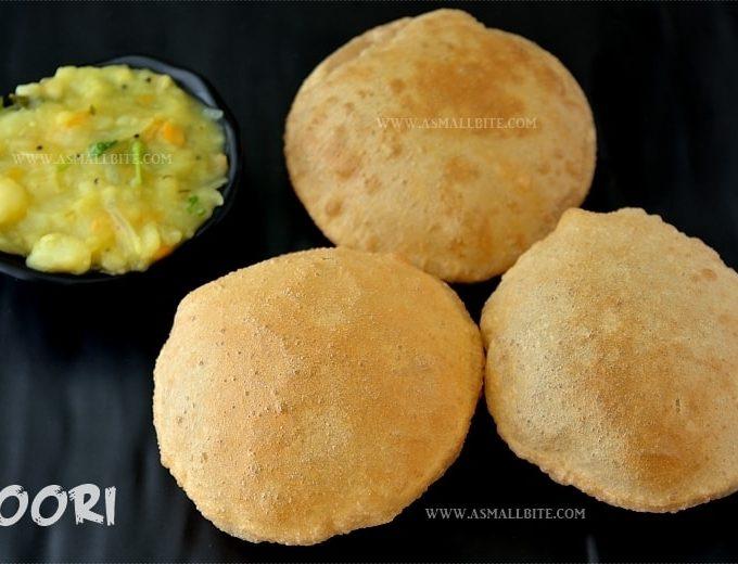 Poori Recipe | How to make puffy Puri