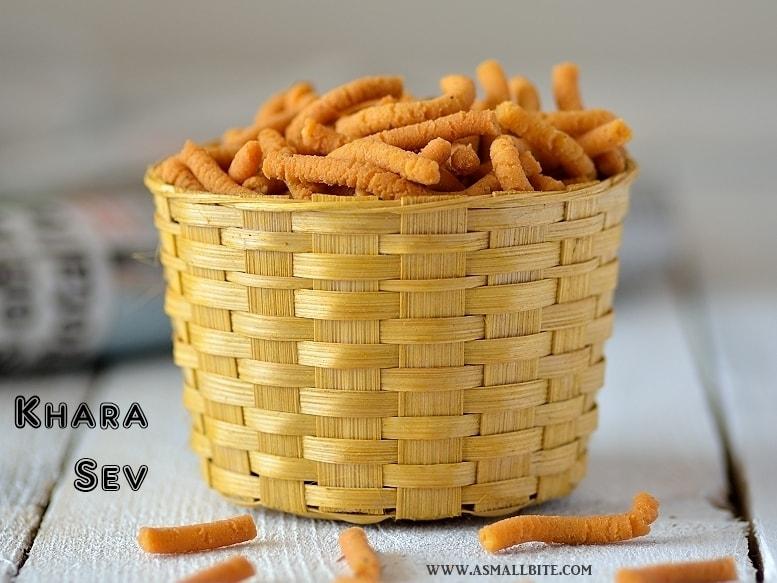 Khara Sev Recipe