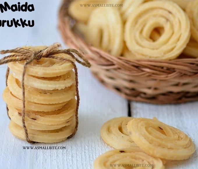 Maida Murukku Recipe | Maida Murukku