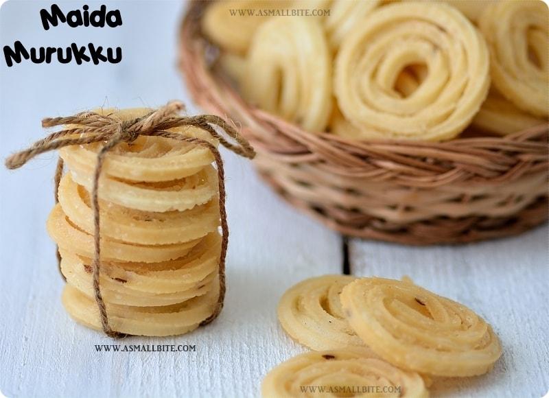 Maida Murukku Recipe 2