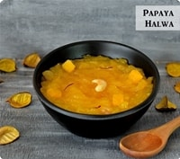Papaya Halwa Recipe | Halwa Recipes