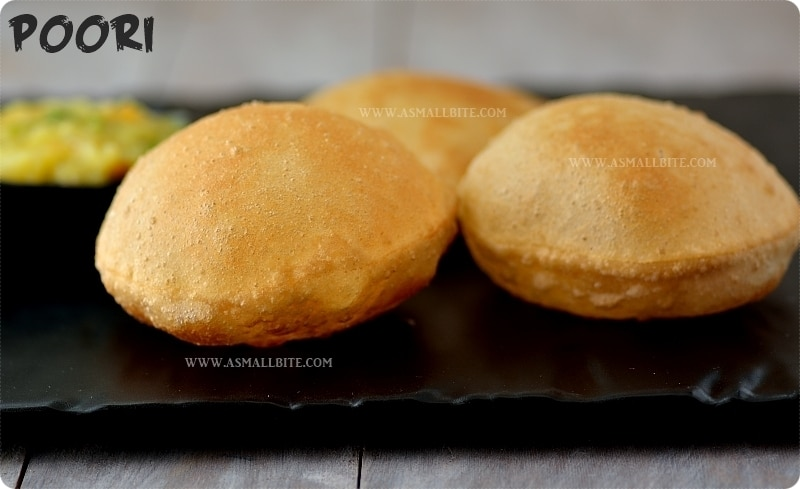 Poori Recipe | How to make puffy Puri