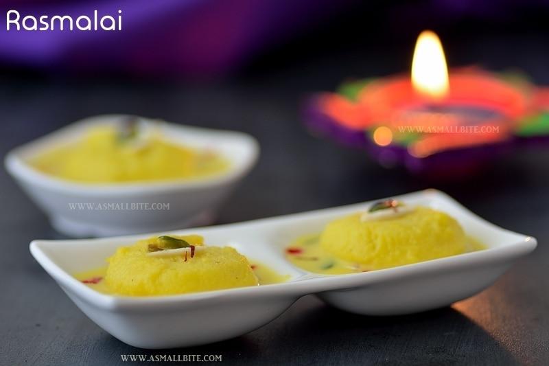 Rasmalai Recipe | Rasmalai