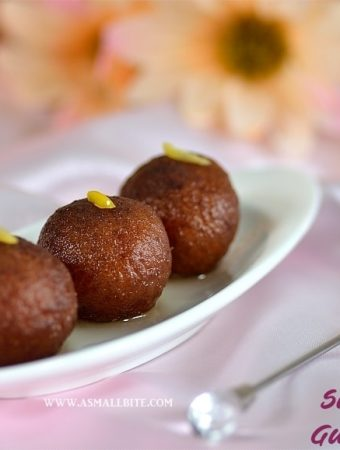 Sweet Potato Gulab Jamun 1
