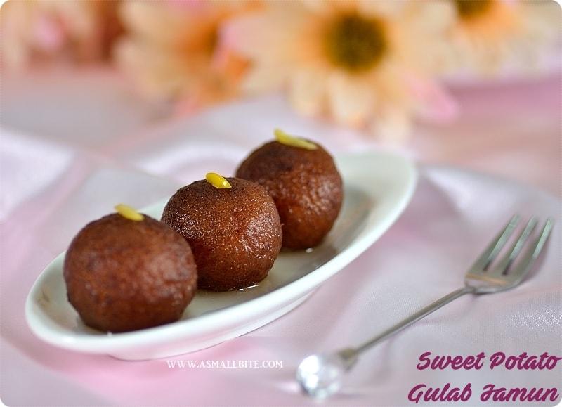 Sweet Potato Gulab Jamun 1