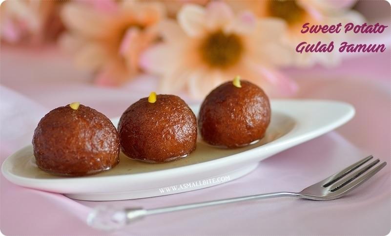 Sweet Potato Gulab Jamun Recipe | Sweet Potato Gulab Jamun
