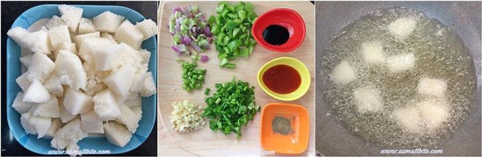 Chilli Idli Recipe Steps1