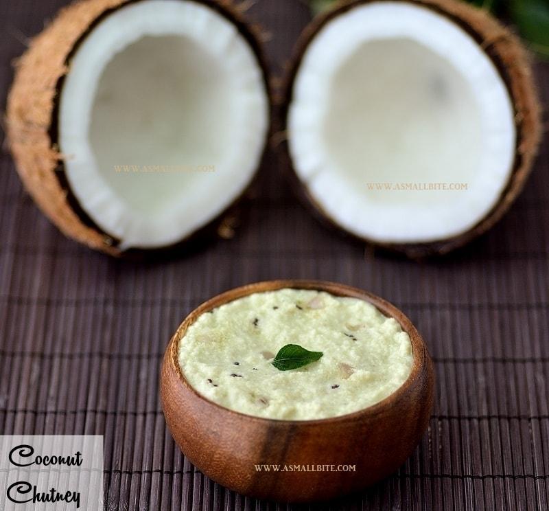 Coconut Chutney Recipe 1