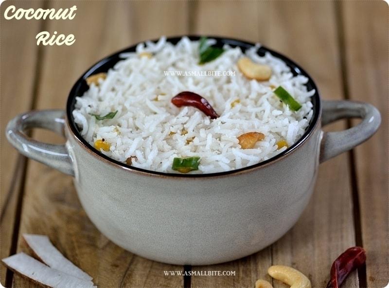 Coconut Rice Recipe 1