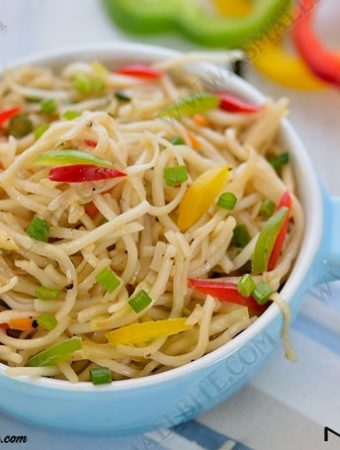 Hakka Noodles Recipe 1