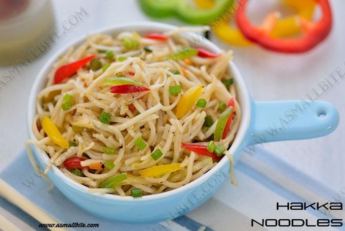 Hakka Noodles Recipe 1