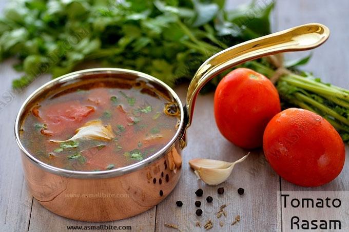 Tomato Rasam Recipe | Thakkali Rasam