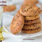 Choco Chip Cookies Recipe | Eggless Chocolate Chip Cookies