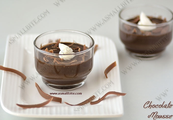 Chocolate Mousse Recipe 1