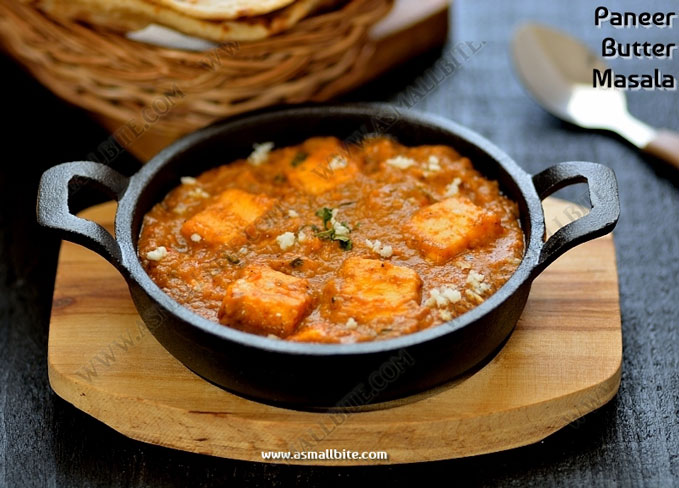 Easy Paneer Butter Masala 1