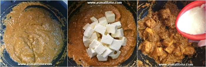 Easy Paneer Butter Masala Steps6