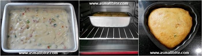 Eggless Tutti Frutti Cake Recipe Steps6
