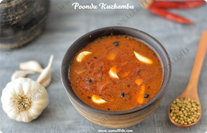 Garlic Kuzhambu Recipe 1
