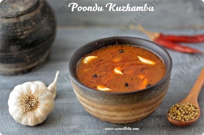 Garlic Kuzhambu Recipe