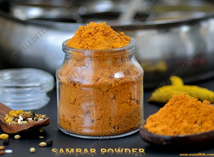 Homemade Sambar Powder 1