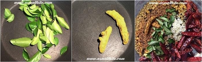 Homemade Sambar Powder Steps4
