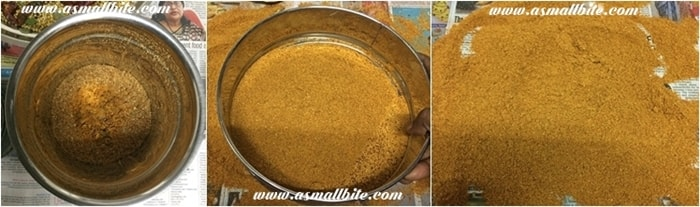 Homemade Sambar Powder Steps6