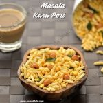 Masala Kara Pori Recipe | Spicy Puffed Rice Recipe