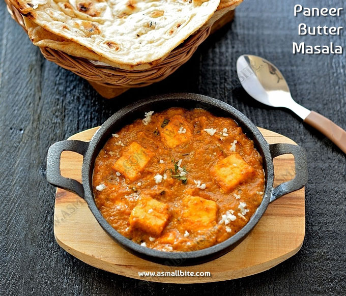 Paneer Butter Masala Recipe 1