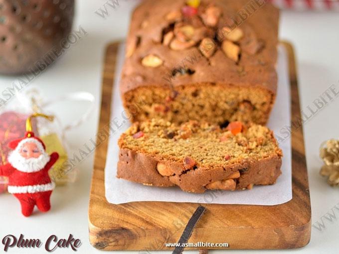 Plum Cake Recipe 3