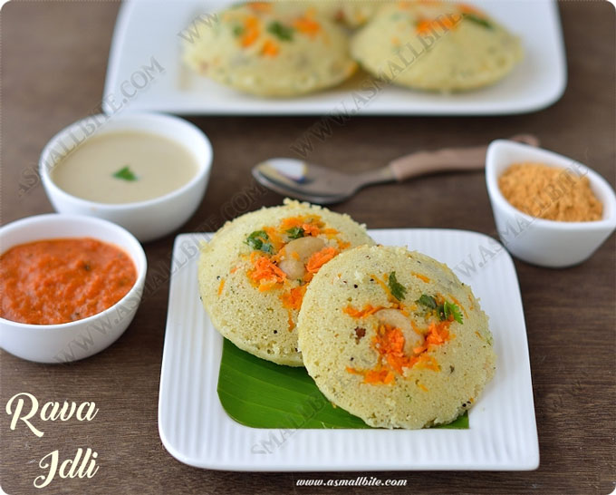 Rava Idli Recipe 1