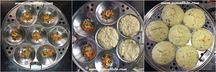 Rava Idli Recipe Step5