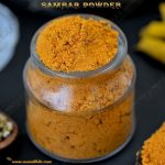 Sambar Powder Recipe | How to make Sambar Powder