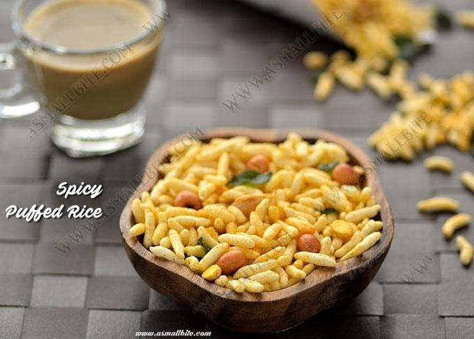 Spicy Puffed Rice Recipe